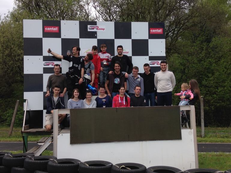 Podium ENDURANCE CUP Level 2 du 03 mai 2015